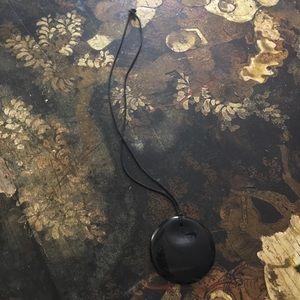 Tiffany & Co Peretti Round necklace Black Lacquer
